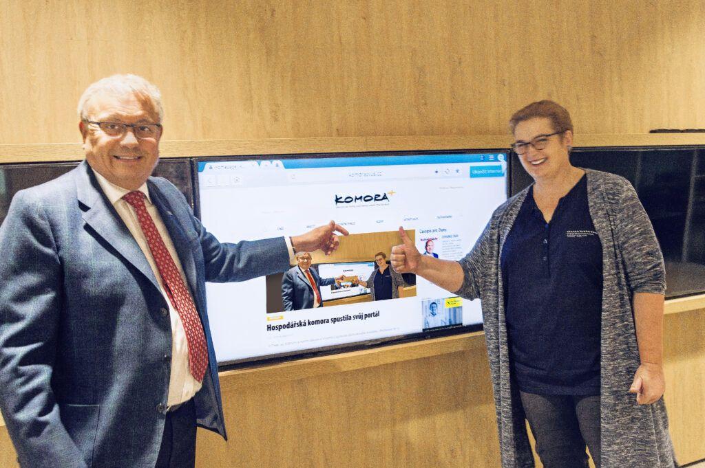 Podnikatelé spouští vlastní zpravodajský web o podnikání Komora+